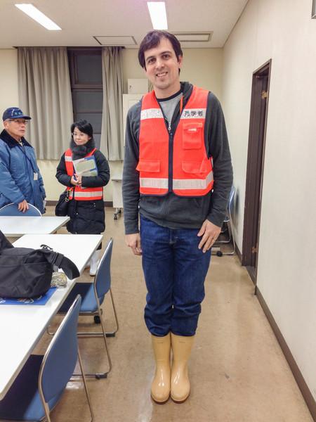 Tsukiji Fish Market, Tokyo - rubber boots