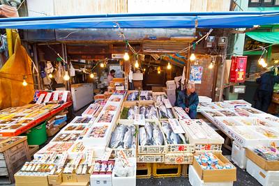 Tsukiji Outside Market