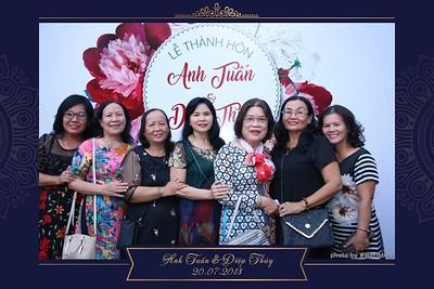 Tuan & Thuy Wedding Photobooth - chụp hình in ảnh lấy liền Tiệc cưới tại Cam Ranh - Khánh Hoà