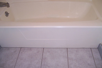 BEFORE- tub convertion
