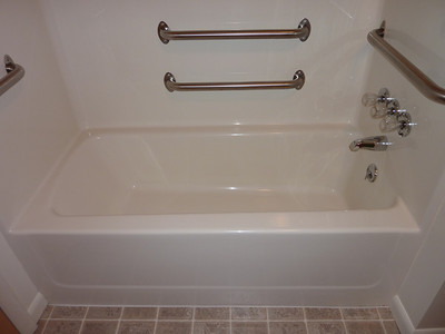 Before - Obstacle - Can't step over the tub