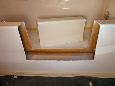 Fiberglass Gel Coat Bathtub Conversion  ... Custom Built ... in Belleville, PA