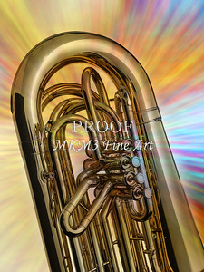 Tuba Mujsic Insdtrument In Color 121.2060
