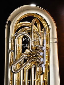 Tuba Mujsic Insdtrument In Color 100.2060