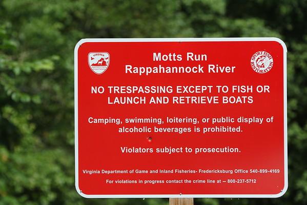 Tubing the Rappahannock River