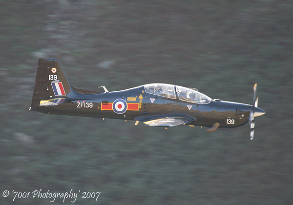 ZF139/'139' (207(R) SQN marks) Tucano T.1 - 5th October 2007.