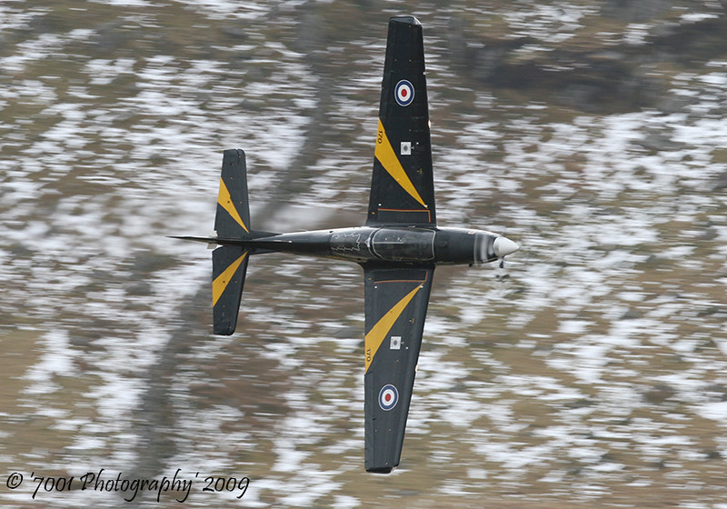 ZF170/'170' 'MP-A' (76(R) SQN marks) Tucano T.1 - 11th February 2009.