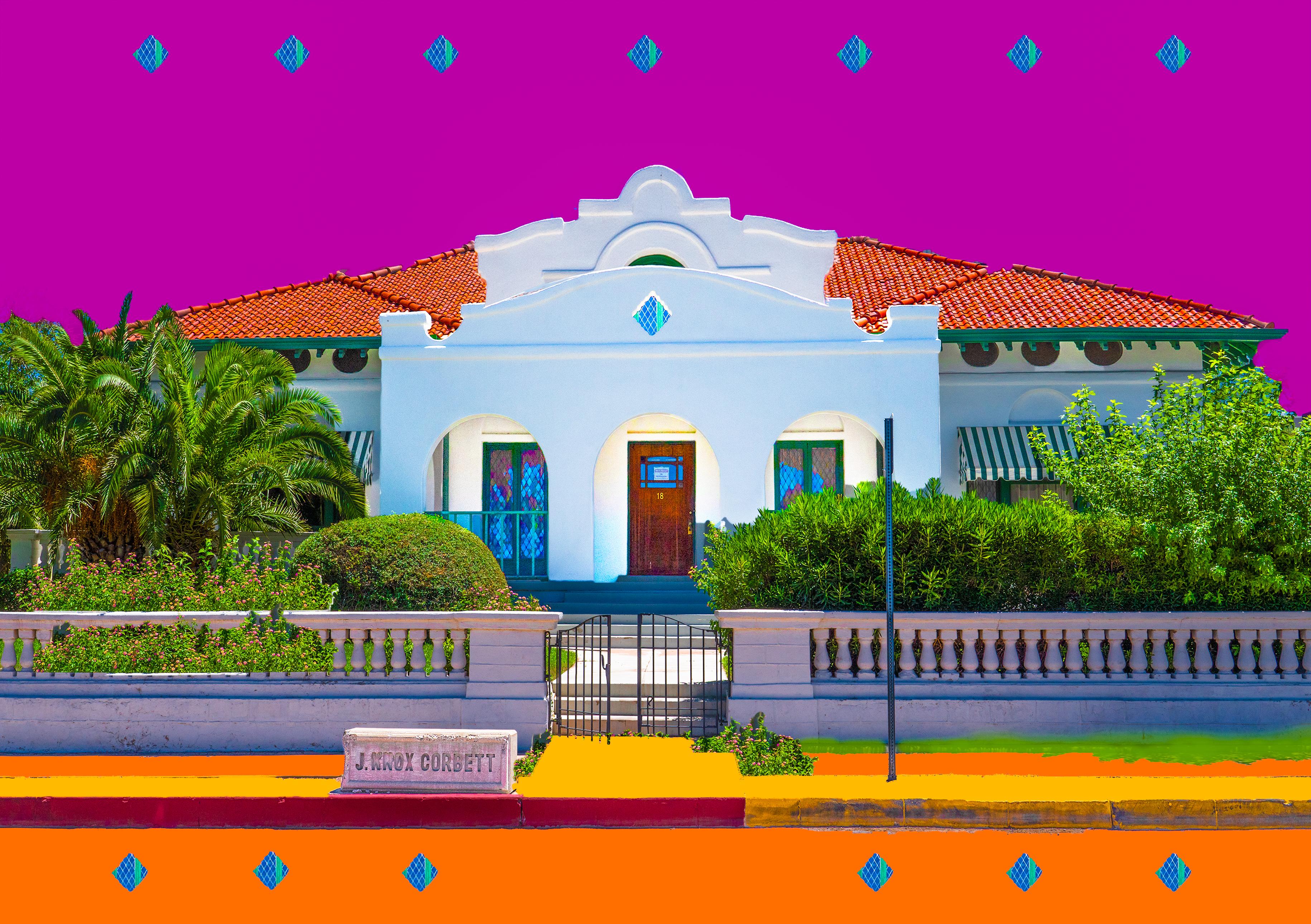 Corbett House, El Presidio, Tucson, AZ, 2021