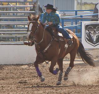 Tucson Rodeo 29 Feb 2011 Go Git Em Cowgirl