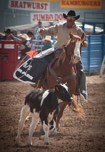Tucson Rodeo 29 Feb 2011 Come on lil Doggie