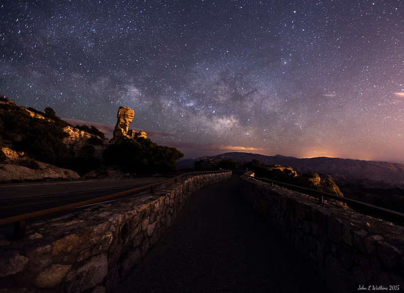 Milky Way Rising at Windy Point on Mount Lemmon