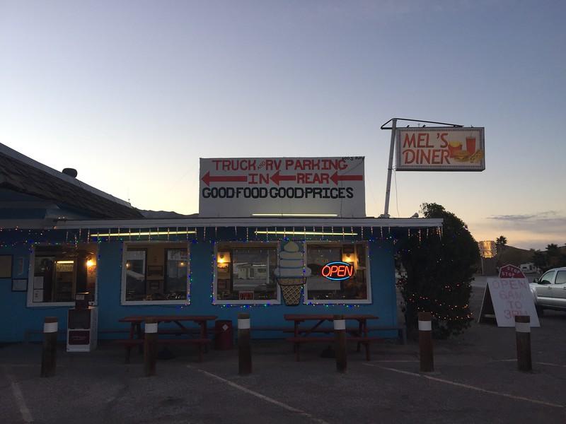 Breakfast in Beatty, NV