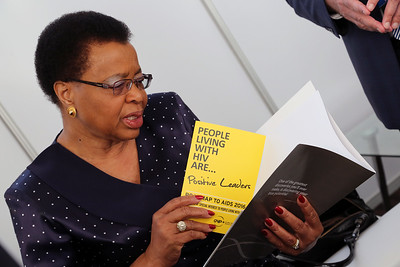 21st International AIDS Conference (AIDS 2016), Durban, South Africa. Tuesday 19th July 2016, VENUE : Durban ICC (Green Room) Tuesday Plenary  Graca Machel  Photo©International AIDS Society/Abhi Indrarajan