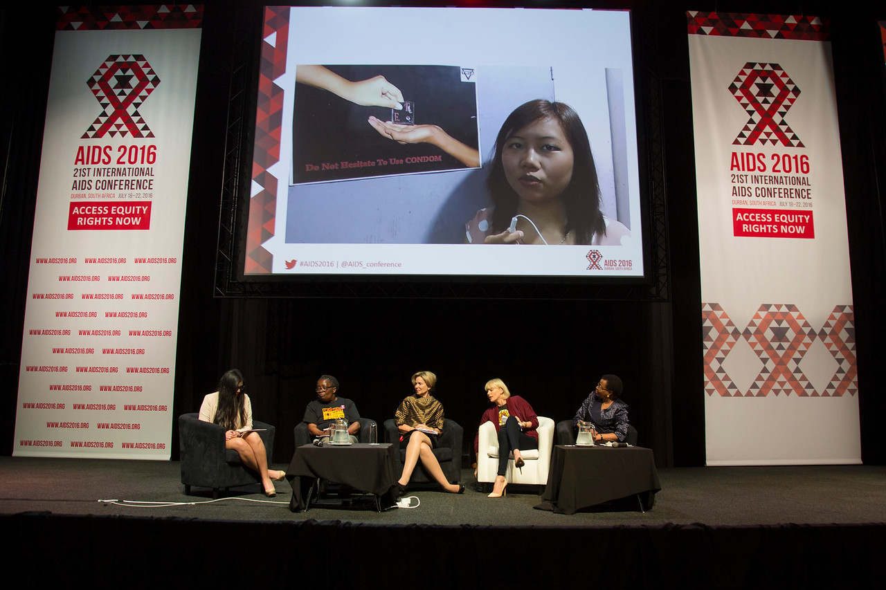 21st International AIDS Conference (AIDS 2016), Durban, South Africa. Where are we now? (TUPL01).   speaks, 19 July, 2016. Photo©International AIDS Society/Rogan Ward