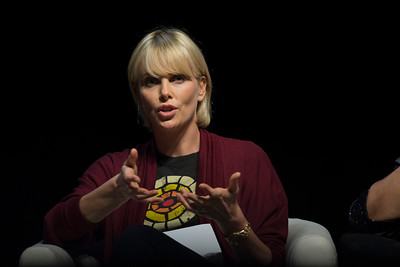 21st International AIDS Conference (AIDS 2016), Durban, South Africa. What a Girl Wants: Sexual and Reproductive Health and Rights, Treatment Access and Gender Equality (TUSS01) Charlize Theron, Charlize Theron Africa Outreach Project, United States , 19 July, 2016. Photo©International AIDS Society/Rogan Ward