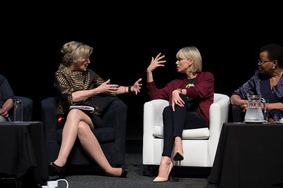 21st International AIDS Conference (AIDS 2016), Durban, South Africa. What a Girl Wants: Sexual and Reproductive Health and Rights, Treatment Access and Gender Equality (TUSS01) Deborah Birx, The U.S. President's Emergency Plan for AIDS Relief (PEPFAR), United States and Charlize Theron, 19 July, 2016. Photo©International AIDS Society/Rogan Ward