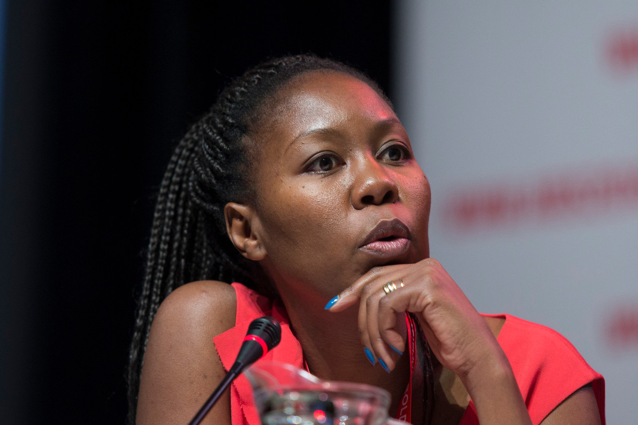 21st International AIDS Conference (AIDS 2016), Durban, South Africa. Turning the Tide for Adolescent Girls and Young Women: How Realizing Gender Equality and Securing Women's Human Rights are Essential for Reaching the End of AIDS (TUSY0603)  Sisonke Msimang, Independent, South Africa, 19 July, 2016. Photo©International AIDS Society/Rogan Ward