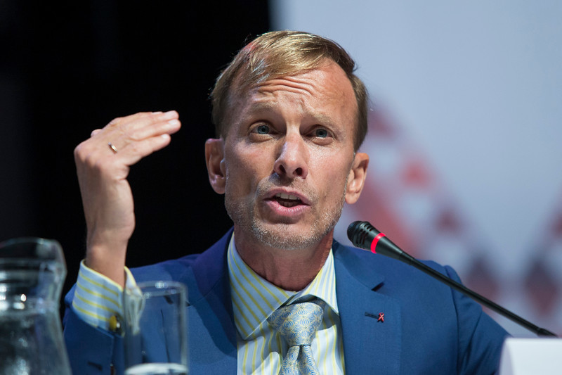 21st International AIDS Conference (AIDS 2016), Durban, South Africa. Turning the Tide for Adolescent Girls and Young Women: How Realizing Gender Equality and Securing Women's Human Rights are Essential for Reaching the End of AIDS (TUSY0603) Mark Dybul, The Global Fund to Fight AIDS, Tuberculosis and Malaria, Switzerland speaks, 19 July, 2016. Photo©International AIDS Society/Rogan Ward