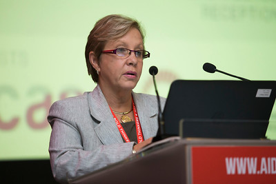 21st International AIDS Conference (AIDS 2016), Durban, South Africa. The Robert Carr Research Award and Lecture (TUCA14) J. Carolyn Gomes, 19 July, 2016. Photo©International AIDS Society/Rogan Ward