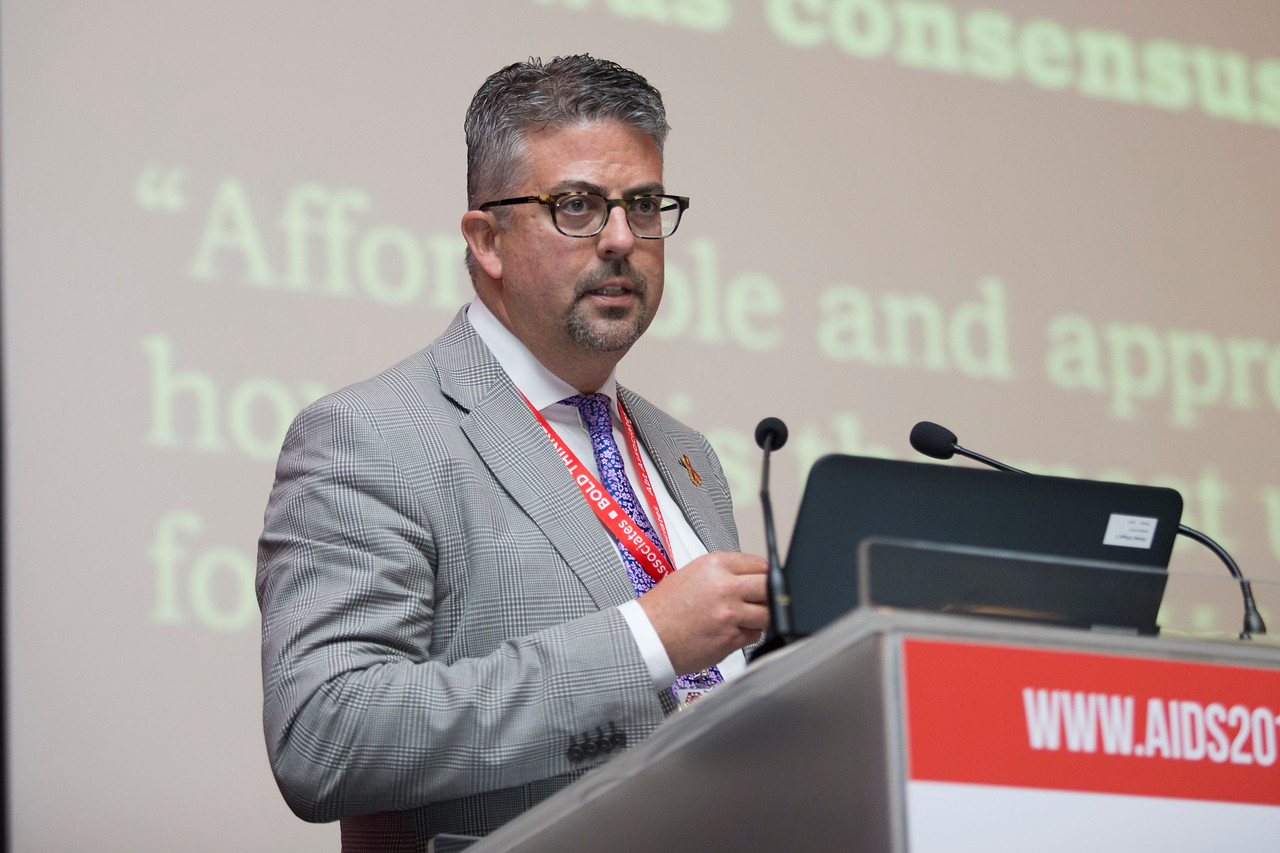 21st International AIDS Conference (AIDS 2016), Durban, South Africa. The Robert Carr Research Award and Lecture (TUCA14) Sean B. Rourke, 19 July, 2016. Photo©International AIDS Society/Rogan Ward