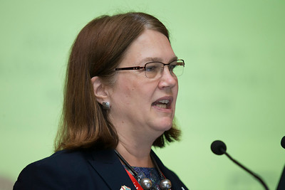 21st International AIDS Conference (AIDS 2016), Durban, South Africa. The Robert Carr Research Award and Lecture (TUCA14) Jane Philpott, 19 July, 2016. Photo©International AIDS Society/Rogan Ward