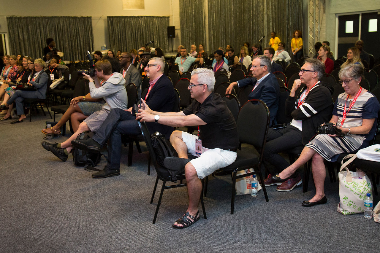 21st International AIDS Conference (AIDS 2016), Durban, South Africa. The Robert Carr Research Award and Lecture (TUCA14)  , 19 July, 2016. Photo©International AIDS Society/Rogan Ward