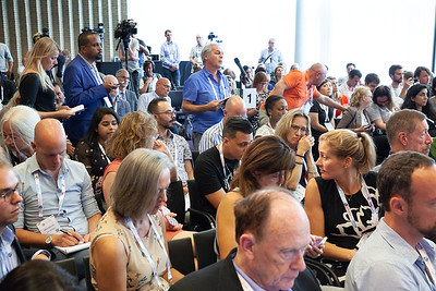 The Netherlands, Amsterdam, 24-7-2018.  Pressconference Eastern Europe and Central Asia. Photo: Rob Huibers for AIS.  (Please publish always with complete attribution).