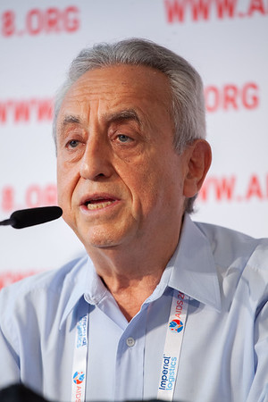 The Netherlands, Amsterdam, 24-7-2018.  Press Conference HIV Prevention Highlights Research.  Pedro Cahn. Photo: Rob Huibers for IAS.  (Please publish always with complete attribution).