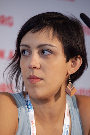 The Netherlands, Amsterdam, 24-7-2018.  Press Conference HIV Prevention Highlights Research.  Mariana Veloso Meireles. Photo: Rob Huibers for IAS.  (Please publish always with complete attribution).