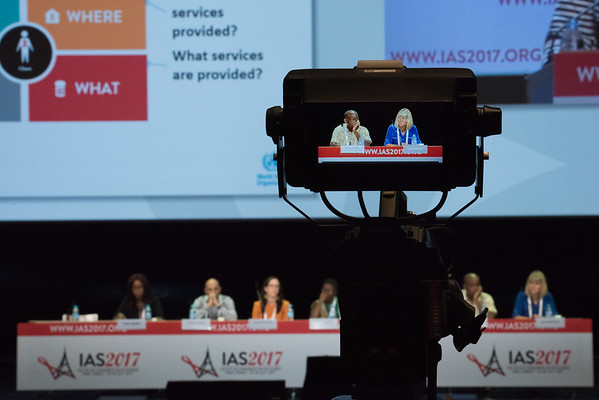 9th IAS Conference on HIV Science (IAS 2017) Paris, France. Copyright: Marcus Rose/IAS  Photo shows: TUSY01 Differentiated Service Delivery and Care: Key Considerations for Successful Scale-up.