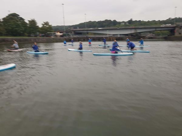 Tuesday4 Sep 2018 Social Rowers (Kate, Maddie)