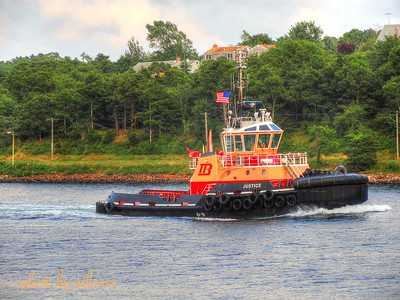 2012 Tug Justice Westbound Cape Cod Canal