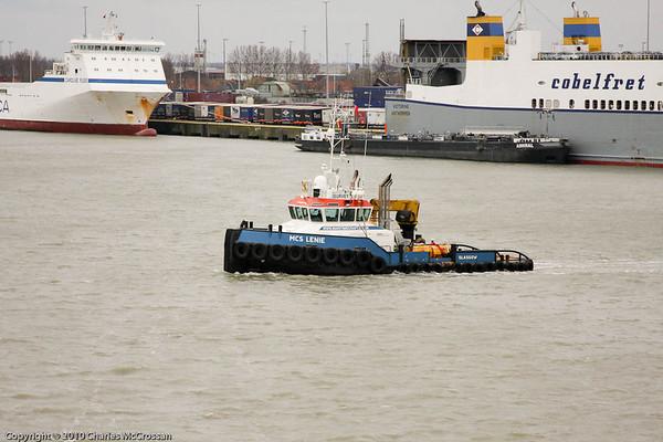 Tugs and Workboats - Zeebrugge