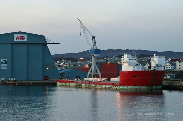 Supply Vessels seen in Bergen and Haugesund