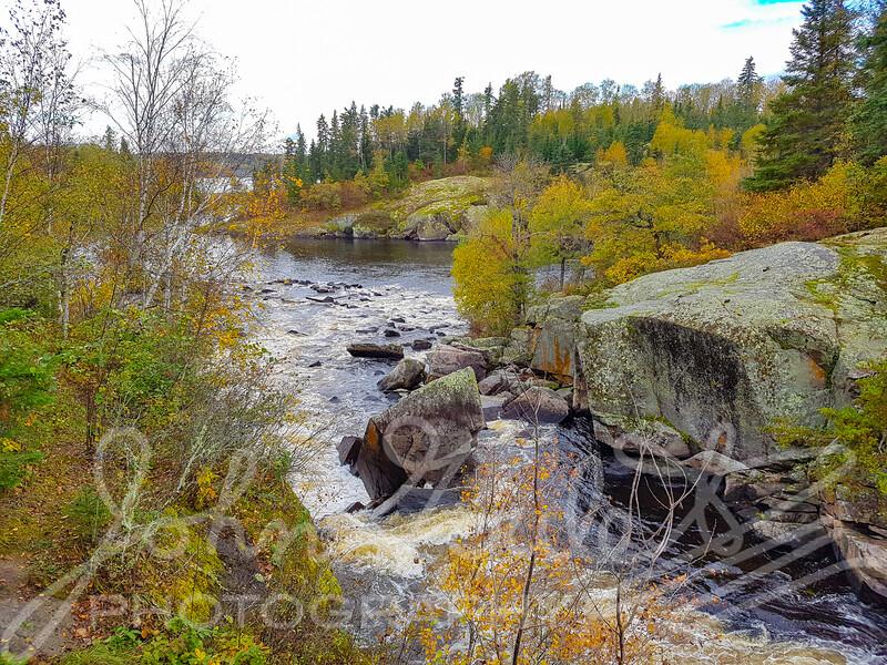 Tulabi Falls Nopiming Park Manitoba