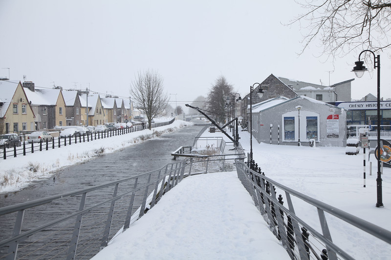 Snow in Tullamore 01 March 2018