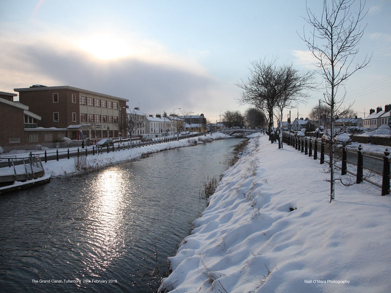 The Grand Canal, Tullamore - 28 Feb 2018
