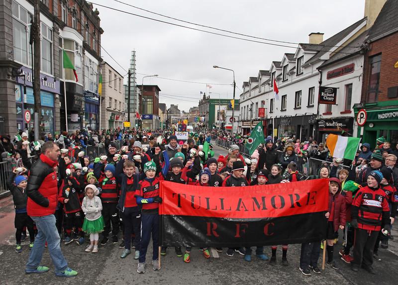 St Patrick's Day Parade, Tullamore 17.03.2018  Picture© Niall O'Mara  niallomara@me.com 08777 40267