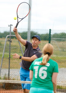 Tullamore Tennis Club's Open Blitz Sunday 28th July 2019     Picture. Niall O'Mara