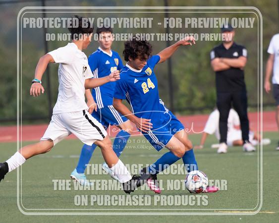 THS Boys Soccer v Berks Catholic