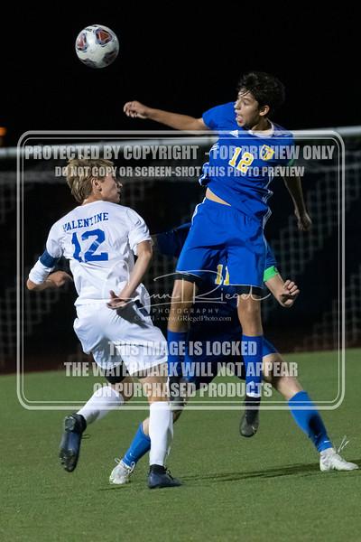 THS Boys Soccer v Blue Mountain