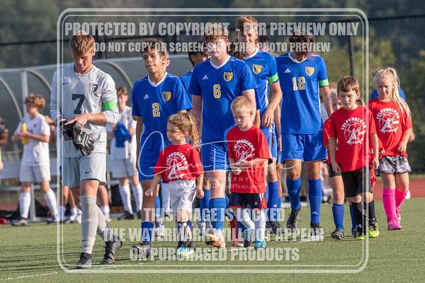 THS Boys Soccer v Wyomissing