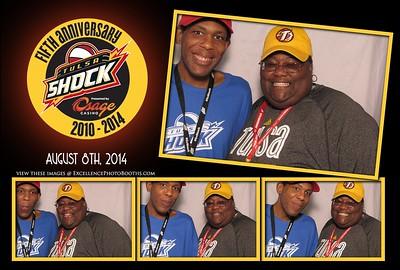Tulsa Shock Aug 8th 2014