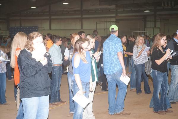 Tulsa Livestock Judging Contest