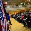 KRISTOPHER RADDER — BRATTLEBORO REFORMER<br /> Democratic presidential candidate Rep. Tulsi Gabbard, D-Hawaii, holds a town hall at Keene State College, in Keene, N.H., on Wednesday, Feb. 5, 2020.