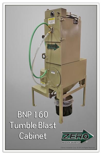 BNP 160 Tumble Blast Cabinet