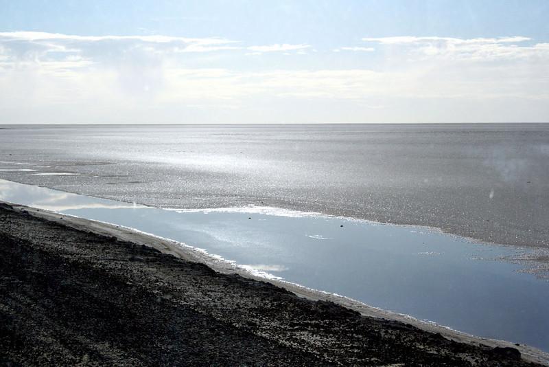 Chott el-Jerid, Tunisia (salt lake)