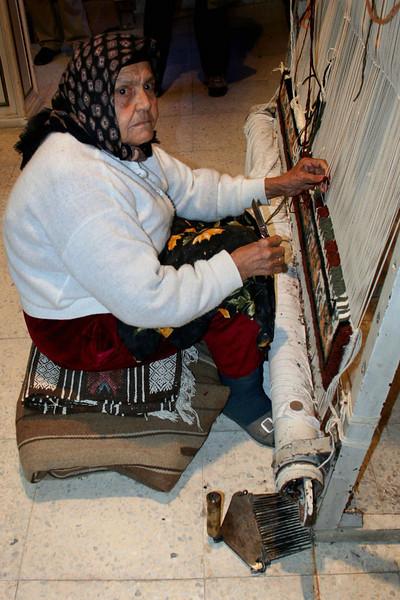 Kairouan rug shop