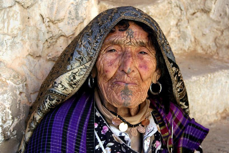 Mariam in Chenini, Tunisia