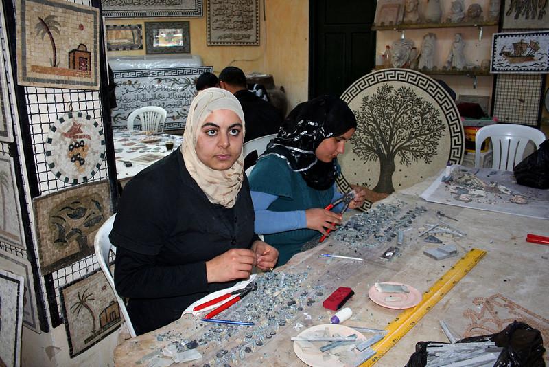 Mosaic studio, El-Jem